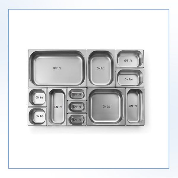 Containere GN din inox