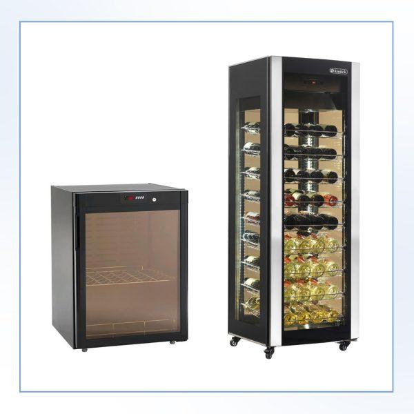 Vitrine frigorifice pentru vin (beciuri pentru vin)